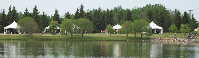 Event rentals in the Lloydminster AB/SK area