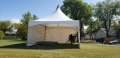 Rental store for 20 x20  White Marquee Frame Tent in Lloydminster AB