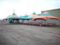 Rental store for 20 x20  Green   Orange Frame Tent in Lloydminster AB