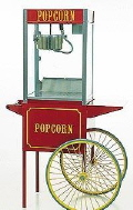 Rental store for 8oz Popcorn Machine with Cart in Lloydminster AB