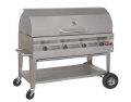 Rental store for 4 X18  STAINLESS STEEL BBQ with Roll Top Lid in Lloydminster AB