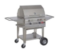 Rental store for 2 X18  STAINLESS STEEL BBQ with Roll Top Lid in Lloydminster AB